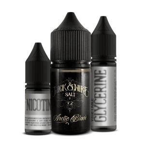 Набор Wick & WIRE SALT- Arctic Black 25 mg (30 ml.)