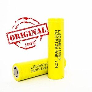 Аккумулятор 18650 LG INR HE4 2500mAh 20A (Оригинал)