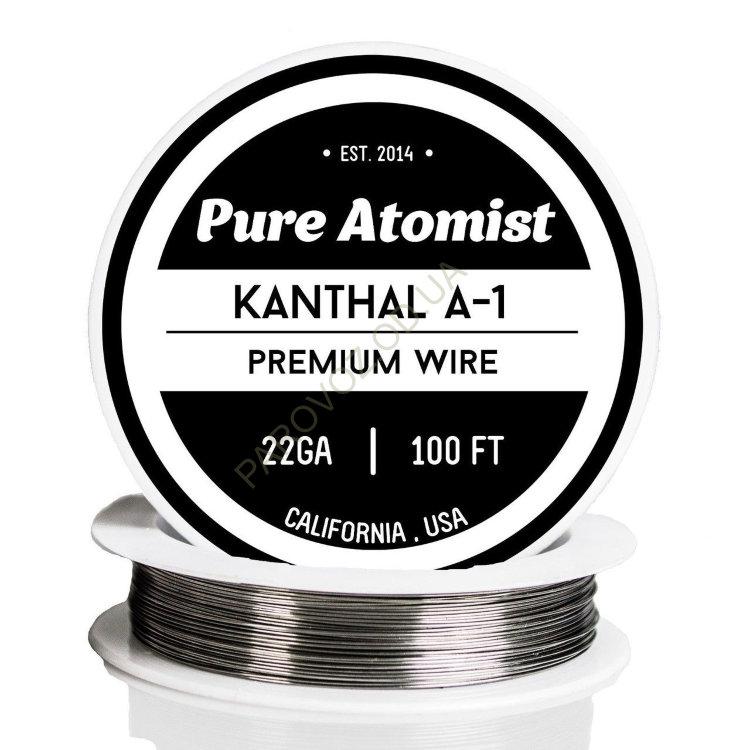 Кантал (Kanthal) 0,4 мм (1 м.) - Кантал (фехраль)