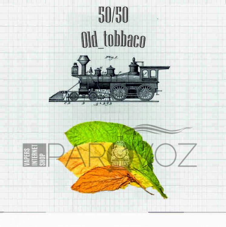 Жидкость PAROVOZ - Old_tobbaco (60 ml.) - PAROVOZ (Табачка)