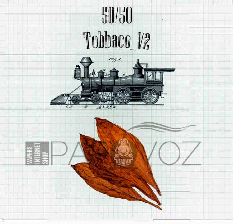 Жидкость PAROVOZ - Tobbaco_V2 (60 ml.) - PAROVOZ (Табачка)