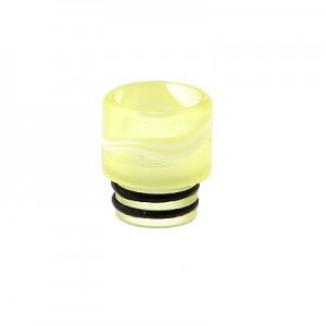 Дрип тип (Drip Tip) 510 акриловый Light Yellow