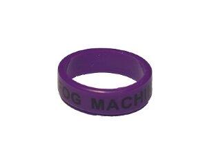Вейп бэнд (Vape band) фиолетовый FOG MACHINE 22x7 мм.