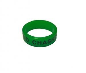 Вейп бэнд (Vape band) зеленый CLOUD CHASHER 22x7 мм.