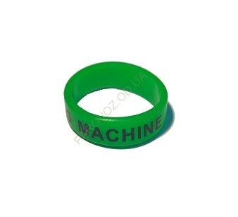 Вейп бэнд (Vape band) зеленый FOG MACHINE 22x7 мм. - Защита баков (Vape Band)