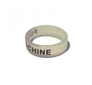 Вейп бэнд (Vape band) прозрачный FOG MACHINE 22x7 мм.