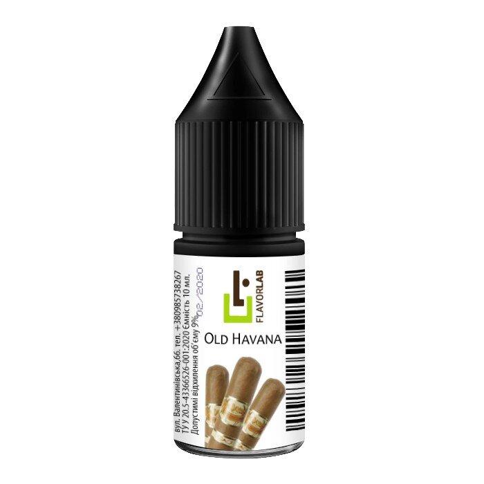 FlavorLab - Old Havana (Табак) 10 мл - Ароматизаторы Flavor Lab