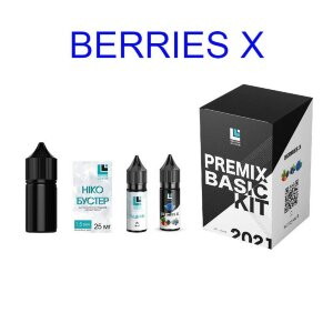 Набор для самозамеса Premix BASIC KIT - Berries X (30 ml.)