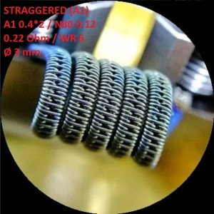 Спираль HM Staggered - A1 (2 шт. - пара)
