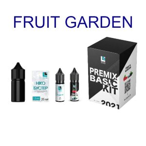Набор для самозамеса Premix BASIC KIT - Fruits Garden (30 ml.)