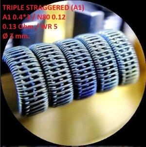 Спираль HM Triple staggered - A1 (2 шт. - пара)