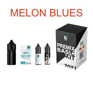 Набор для самозамеса Premix BASIC KIT - Melon Blues (30 ml.)