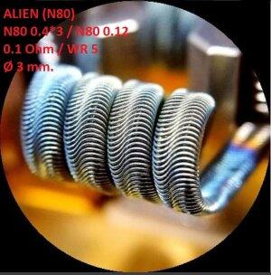 Спираль HM Alien - Ni80 (2 шт. - пара)