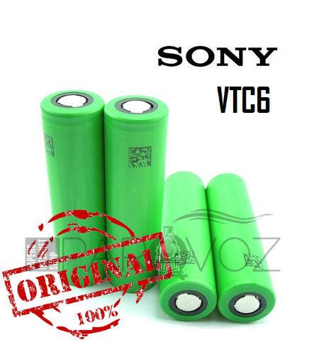 Аккумулятор 18650 Sony VTC6 3120mAh 30А (Оригинал) - Аккумуляторы и зарядные устройства