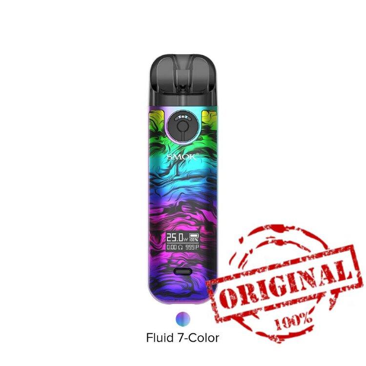 Стартовый комплект Smok Novo 4 Pod Kit 800mah Fluid 7-Color (Оригинал) - POD системы