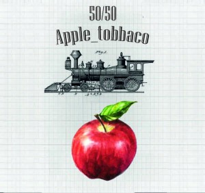 Жидкость PAROVOZ - Apple_tobbaco (60 ml.)