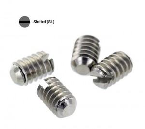 Запасные винты (плоская отвертка) - M2.5x5 мм. (2 шт)